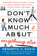 Don t Know Much About Anything Else Book