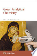 Green Analytical Chemistry Book