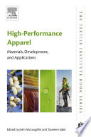 """High-Performance Apparel: Materials, Development, and Applications"" by John McLoughlin, Tasneem Sabir"