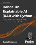 Pdf Hands-On Explainable AI (XAI) with Python Telecharger