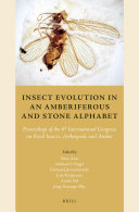 Insect Evolution in an Amberiferous and Stone Alphabet