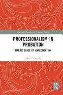 Professionalism in Probation