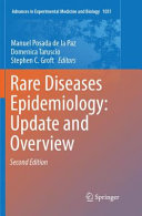 Rare Diseases Epidemiology  Update and Overview Book