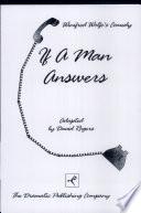 If A Man Answers Book PDF