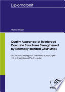 Quality Assurance Of Reinforced Concrete Structures Strengthened By Externally Bonded Cfrp Strips Book PDF