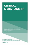 Critical Librarianship