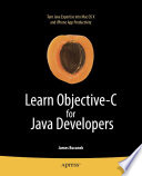 Learn Objective C For Java Developers