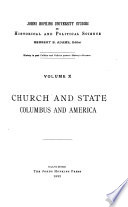 Church and State  Columbus and America Book PDF