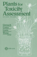 Pdf Plants for Toxicity Assessment