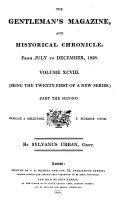 Gentleman's Magazine, and Historical Chronicle