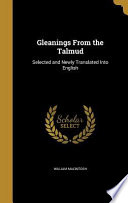 GLEANINGS FROM THE TALMUD