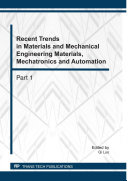 Recent Trends in Materials and Mechanical Engineering Materials, Mechatronics and Automation [Pdf/ePub] eBook