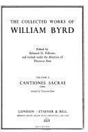 Cantiones sacrae  1591