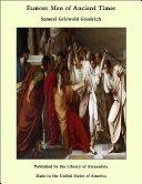 Famous Men of Ancient Times Pdf/ePub eBook