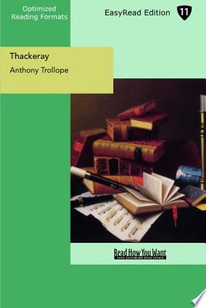 Download Thackeray Free Books - Dlebooks.net