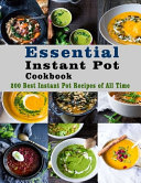 Essential Instant Pot Cookbook Book
