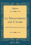 Le Misanthrope and L'avare
