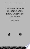 Technological Change   Productivity Growth