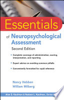 Essentials Of Neuropsychological Assessment Book PDF