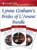 Pdf Lynne Graham's Brides of L'Amour Bundle Telecharger