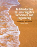 An Introduction to Linear Algebra for Science and Engineering