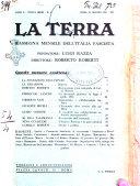 La terra rassegna mensile illustrata della ricostruzione italiana
