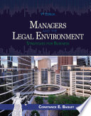 Managers and the Legal Environment  Strategies for Business