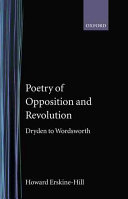 Poetry of Opposition and Revolution