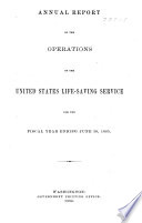 Annual Report of the United States Life Saving Service ... . 1876-1814