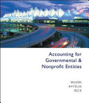 Accounting For Governmental And Nonprofit Entities PDF