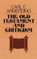 The Old Testament and Criticism