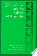 Spenser S Life And The Subject Of Biography