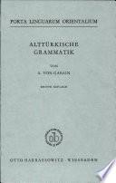 Alttürkische Grammatik