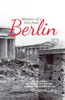 Memoirs of a Girl from Berlin