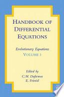 Handbook of Differential Equations  Evolutionary Equations