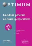 Pdf La culture générale en classes préparatoires (ECE/ECS) Telecharger