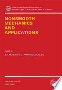Nonsmooth Mechanics And Applications Book PDF