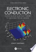 Electronic Conduction