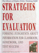 Strategies for Evaluation