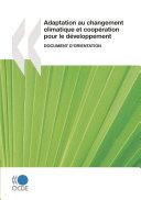 Adaptation au changement climatique et coopération pour le développement : Document d'orientation ebook