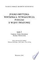 Polsko-Brytyjska współpraca wywiadowcza podczas II wojny światowej: Ustalenia Polsko-Brytyjskiej Komisji Historycznej
