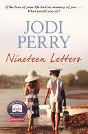 Nineteen Letters Pdf/ePub eBook