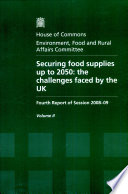 Securing food supplies up to 2050 Book