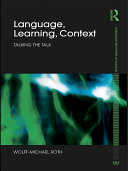 Language, Learning, Context