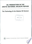 Oil Production in the Arctic National Wildlife Refuge
