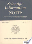 Scientific Information Notes Book PDF