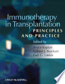 Immunotherapy in Transplantation