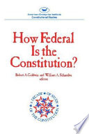 How Federal Is The Constitution