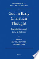 God in Early Christian Thought