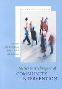 Cover of Tactics & Techniques of Community Intervention